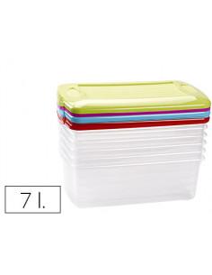 Caja multiusos plastico 7 l...