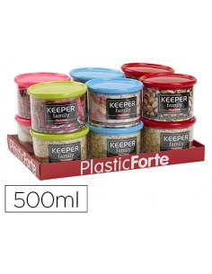Bote multiusos plastico 500...