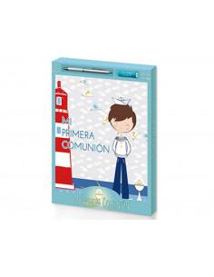 Libro comunion + boligrafo...