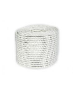 Cuerda nylon blanco rollo...