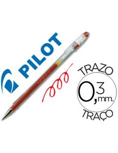 Boligrafo pilot g-1 rojo...