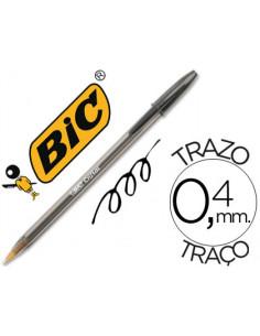 Boligrafo bic cristal negro...