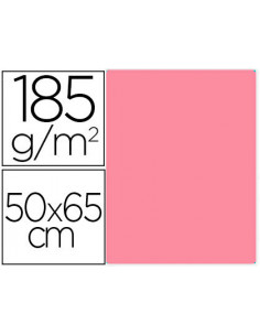 Cartulina guarro rosa...