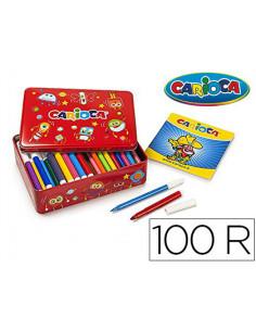 Rotulador carioca color kit...