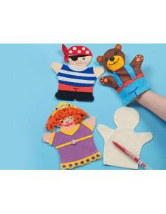 Marioneta textil para niños...