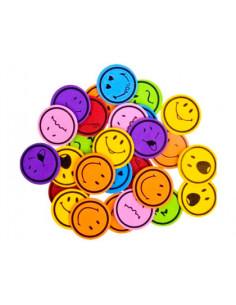 Figuras caritas sonrientes...