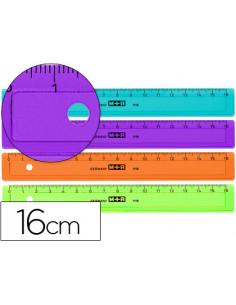 Regla m+r 16 cm plastico de...