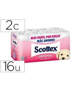 Papel higienico scottex 2...