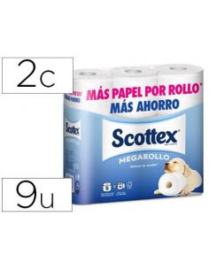 Papel higienico scottex...