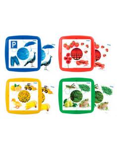 Puzzle miniland los colores...