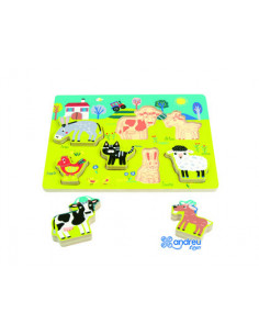 Puzzle andreutoys madera...