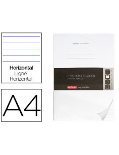 Recambio herlitz note book...