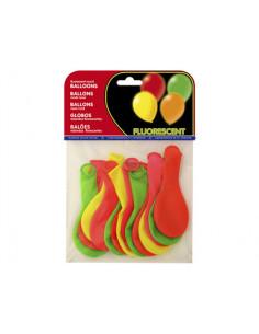 Globos fluorescentes bolsa...