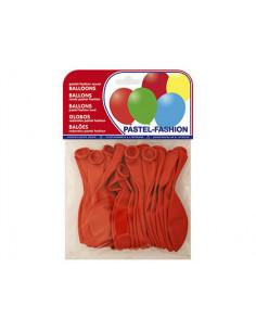 Globos pastel rojo bolsa de...