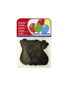 Globos pastel negro bolsa...