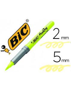 Rotulador bic fluorescente...