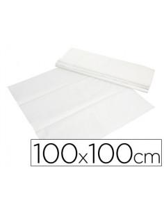 Mantel de papel blanco en...