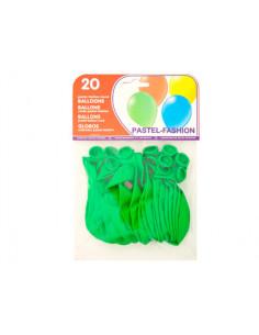 Globos verde pistacho bolsa...