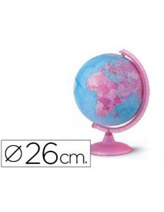 Esfera con luz pink 26 cm