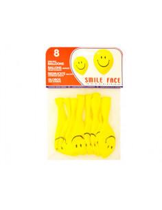 Globos cara sonriente bolsa...