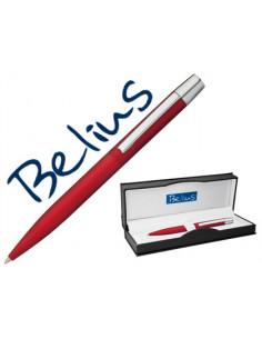 Boligrafo belius berna rojo...