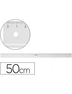 Regla m+r50 cm plastico...