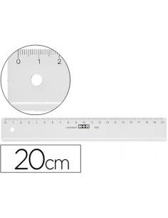 Regla m+r 20 cm plastico...
