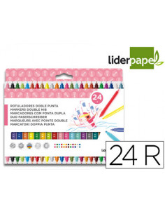 Rotulador liderpapel duo...
