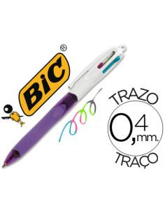Boligrafo bic cuatro...