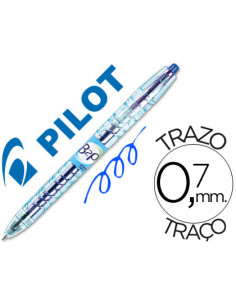 Boligrafo pilot gel b2p azul