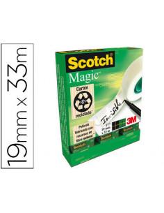 Cinta adhesiva scotch magic...