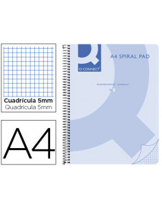 Cuaderno espiral q connect...
