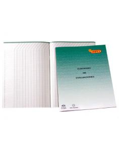 Cuaderno de evaluaciones...