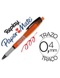 Boligrafo replay max rojo...
