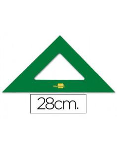 Escuadra liderpapel 28 cm...