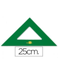 Escuadra liderpapel 25 cm...