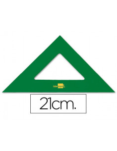 Escuadra liderpapel 21 cm...