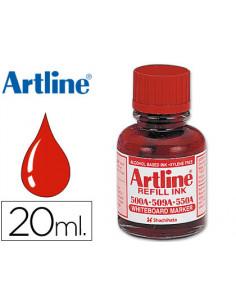 Tinta artline rojo para...