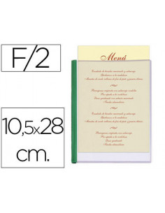 Porta menus liderpapel pvc...