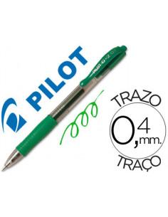 Boligrafo pilot g-2 verde...