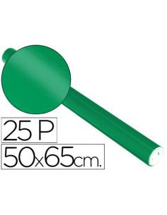Papel metalizado verde...