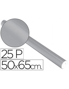 Papel metalizado plata...