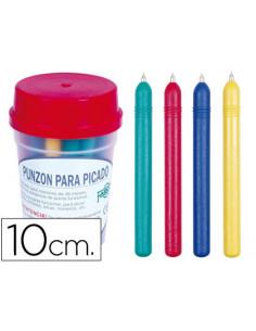 Punzon plastico de color...