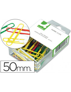 Clips colores q-connect -50...