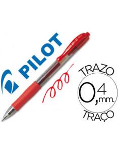 Boligrafo pilot g-2 rojo...