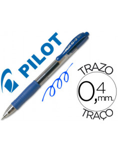 Boligrafo pilot g-2 azul...