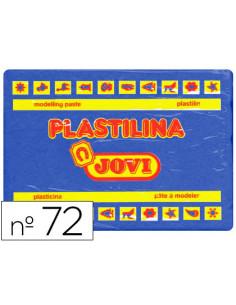 Plastilina jovi 72 azul...