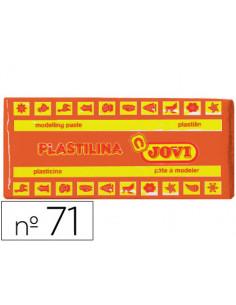 Plastilina jovi 71 naranja...