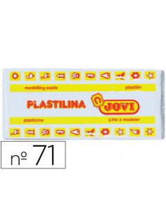 Plastilina jovi 71 blanco...