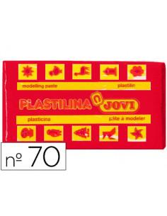 Plastilina jovi 70 rojo...